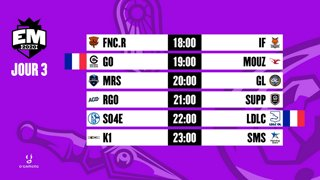 EU Masters - Groups Day 3