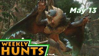 Weekly Hunts, May 13, 2021 - Monster Hunter Rise