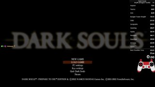 Dark Souls Any% DT+1 route (43:49 IGT)