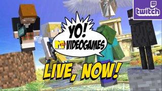 YOVG LIVE - Minecraft X Smash & Weekly Update !nzxt !ads (10-17)