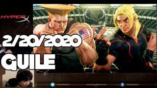 Highlight: 2/20/2020 Street Fighter V ガイル配信パート2 Guile Stream Part 2
