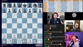 Highlight: Sub battle vs Anna_Chess and Gothamchess Part 1