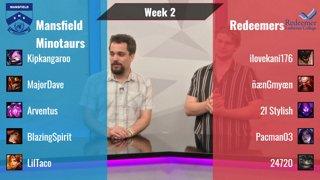 LoLQHS 2020: Mansfield Minotaurs vs Redeemers (Week 2)