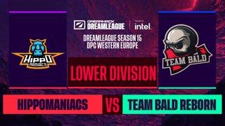 Dota2 - Team Bald Reborn vs. Hippomaniacs - Game 2 - DreamLeague S15 DPC WEU - Lower Division