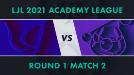 CGA.A vs RJ.A LJL 2021 Academy League Tournament Round Round 1 Match 2