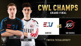 eUnited vs 100 Thieves   CWL Champs 2019   Day 5