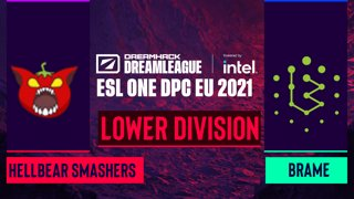Dota2 - Brame vs. Hellbear Smashers - Game 1 - DreamLeague Season 14 DPC: EU - Lower Division