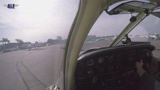 Full Cross-Country Flight KSNA - KCMA - KSNA (SFRA & Coastal Route)