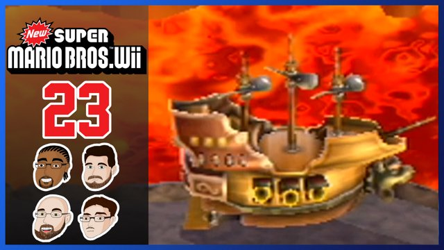 New Super Mario Bros Wii Part 23 World 8 Back To Trolling