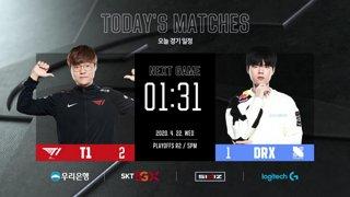 T1 vs. DRX I Playoffs Round 2 [2020 LCK Spring Split]