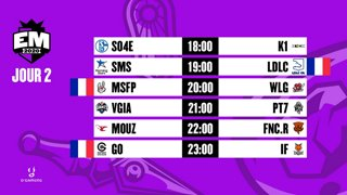 EU Masters - Groups Day 2