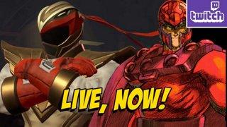 RYU X CHUN LI RANGERS & Marvel Vs Capcom Classics! (4-13) !ads !nzxt