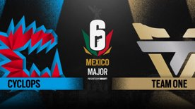 Cyclops vs. Team oNe // Six Major Mexico - group stage - day 3