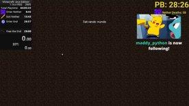 Minecraft 1.14.4 RSG in 25:29