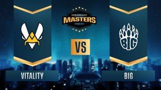 CS:GO - Vitality vs. BIG [Mirage] Map 1 - DreamHack Masters Spring 2021 - Group B