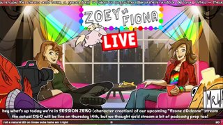 FiZone D&DZone - Session 0 - Character Creation (ft. guests Jerry, Mr. Waffle, and Fishton)