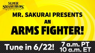 Super Smash Bros. Ultimate – Mr. Sakurai Presents a Fighter from ARMS