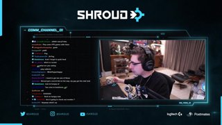 :) |  Follow @shroud on socials