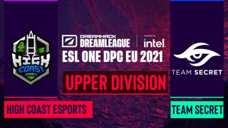 Dota2 - Team Secret vs. High Coast Esports - Game 1 - DreamLeague Season 14 DPC: EU - Upper Division