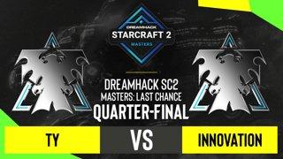 SC2 - TY vs. INnoVation - DH SC2 Masters 2020: Last Chance 2021 - Quarter-final