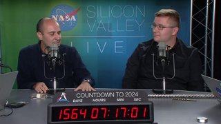 NASA in Silicon Valley Live – Is There Life on Mars?