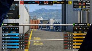 CS:GO - FaZe Clan vs. NAVI 1XBET [Train] Map 3 - ESL Pro League Season 11 - Stage 2