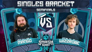 Mang0 vs Wizzrobe - Singles Bracket: Semifinals - Smash Summit 10 | Falco vs Captain Falcon