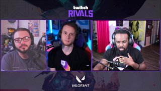 Twitch Rivals: VALORANT Launch Showdown Live Kick-Off