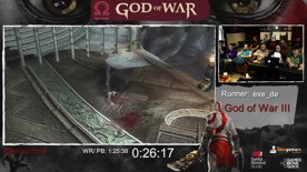 God Of War Done Quick! Ten Years Celebration benefiting AbleGamers