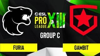 CS:GO - Gambit vs. FURIA [Inferno] Map 2 - ESL Pro League Season 13 - Group C