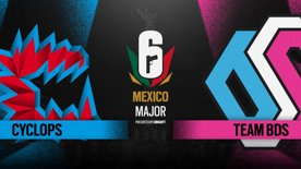 Cyclops vs. Team BDS // Six Major Mexico - group stage - day 3