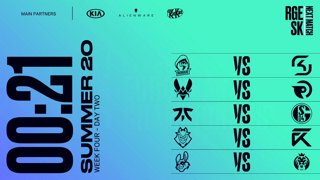 Week 4 Day 2 | LEC Summer Split (2020)