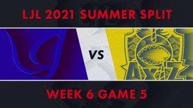 CGA vs AXZ LJL 2021 Summer Split Week 6 Game 5