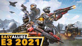 Halo Infinite E3 2021 - Easy Allies Reactions