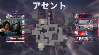 vs Mercury アセント 1MAP目 LOWER FINAL [CR CUP VALORANT DAY2]
