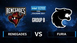 CS:GO - FURIA vs Renegades [Nuke] Map 2 - IEM Cologne 2021 - Group B