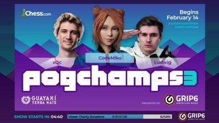 Highlight: Rainn Wilson vs Moistcr1tikal: Pogchamps 3 Presented By GRIP6 - Hosts Botez and Cramling !donate