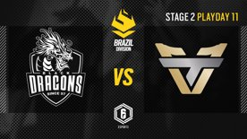 Black Dragons vs. Team oNe - LATAM League 2021   Stage 2 - Playday 11   #BR6
