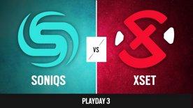 Soniqs vs. XSET   R6 NAL 2021 - Stage 2 - Playday 3