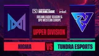 Dota2 - Nigma vs. Tundra Esports - Game 1 - DreamLeague S15 DPC WEU - Upper Division