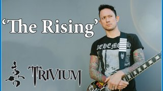 Trivium - The Rising | Acoustic Cover | @matthewkheafy