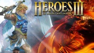 Rique e Bruno com Heroes of Might and Magic III competitivo!