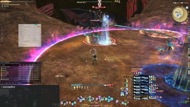 UCoB -- Powerful MCH Solo kills Twintania: ffxiv