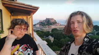 GREECE IRL with andy  Corfu | 10bits tts