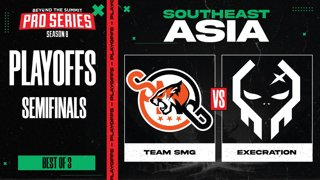 SMG vs Execration Game 1 - BTS Pro Series 8 SEA: Playoffs w/ Ares & Danog