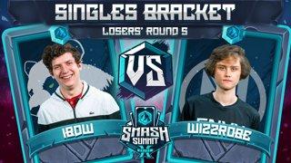 iBDW vs Wizzrobe - Singles Bracket: Losers' Round 5 - Smash Summit 10 | Fox vs Captain Falcon