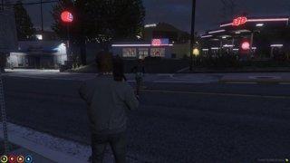 Banshee robs MPark gas station