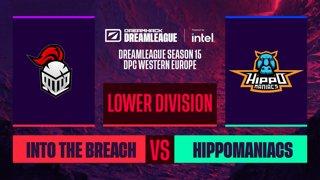 Dota2 - Into The Breach vs. Hippomaniacs - Game 1 - DreamLeague S15 DPC WEU - Lower Division