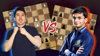 Playing Against the Young Indian Grandmaster Nihal Sarin