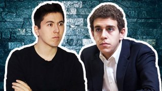 GM Eric Hansen and GM Daniel Naroditsky play 100 chess games